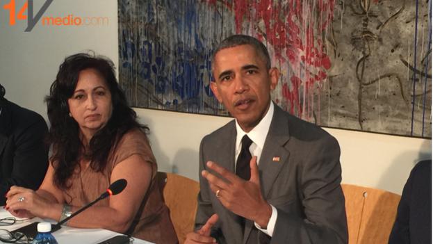 Reunión Disidentes con Obama