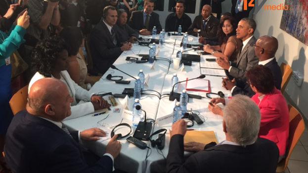 Reunión Obama con Disidentes