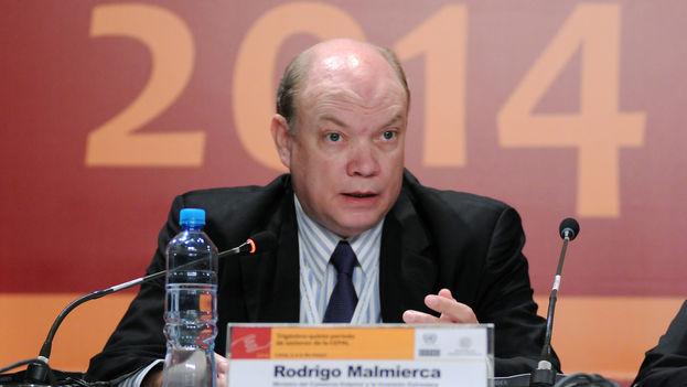 Rodrigo Malmierca en una sesión de CEPAL el pasado mayo de 2014. (CC)