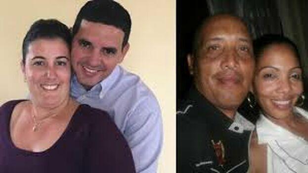 Los médicos cubanos Landy Rodríguez Hernández y Assel Herrera Correa. (Facebook)