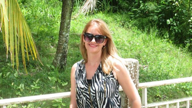 Dalila Rodríguez, exprofesora de la Universidad Central de Las Villas a la que acaban de ratificarle su expulsión. (Cortesía)