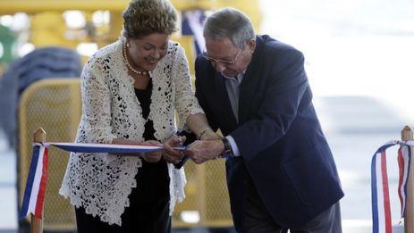 La inauguración de la Terminal de Contenedores de Mariel