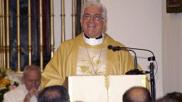 El arzobispo de Santiago de Cuba, Dionisio García Ibáñez. (EFE/Archivo)