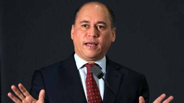 El ministro de Seguridad de Panamá Rodolfo Aguilera. (EFE)