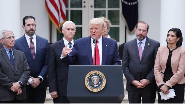 Trump ha recurrido a la Ley Stafford de 1988, que permite a la Agencia Federal de Gestión de Emergencias coordinar la respuesta nacional en caso de catástrofe. (EFE)