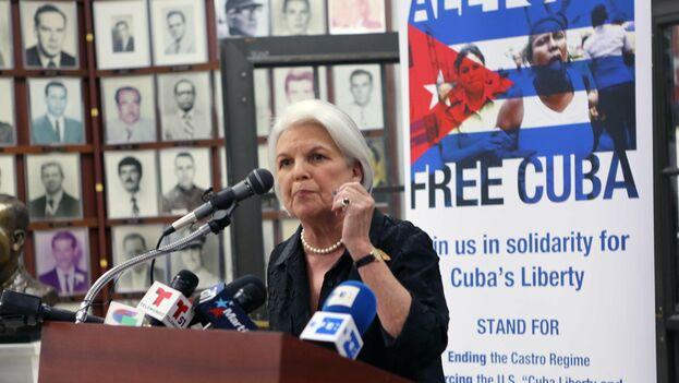 Sylvia Iriondo, Presidenta de MAR por Cuba. (el Nuevo Herald)