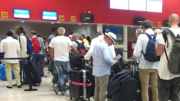 Terminal 3 del Aeropuerto Internacional José Martí de La Habana. (14ymedio)