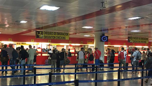 Terminal 3 del Aeropuerto Internacional José Martí en La Habana. (14ymedio)
