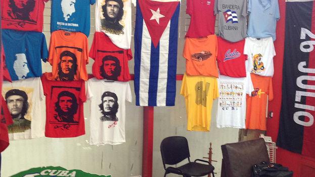 Tienda de recuerdos del Aeropuerto Internacional José Martí de La Habana. (14ymedio)