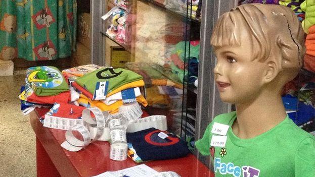 Tienda infantil cerca de la esquina de las calles 23 y 12. (14ymedio)