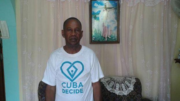 Tomás Núñez Magdariaga estuvo hospitalizado en Santiago de Cuba y no podía recibir visitas de familiares si no deponía su huelga de hambre. (Cortesía)