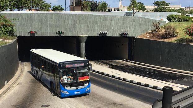 Túnel de la Bahía de La Habana. (14ymedio)