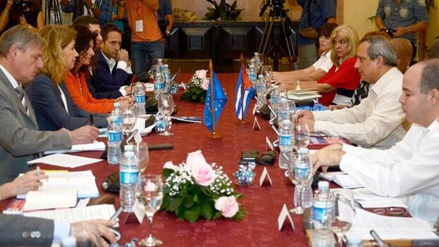 La UE y Cuba sostuvieron encuentros en la Isla el pasado otoño para revisar el estado de sus acuerdos. (EFE)