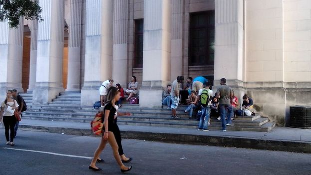 Universidad de La Habana (14ymedio)