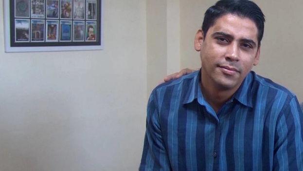 El líder juvenil de la Unpacu, Carlos Amel Oliva. (Centro de Estudios Convivencia)