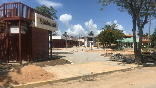 Among some remodeling works that have been carried out during the quarantine, a new boulevard between 61st and 64th streets stands out. (Roma Díaz)