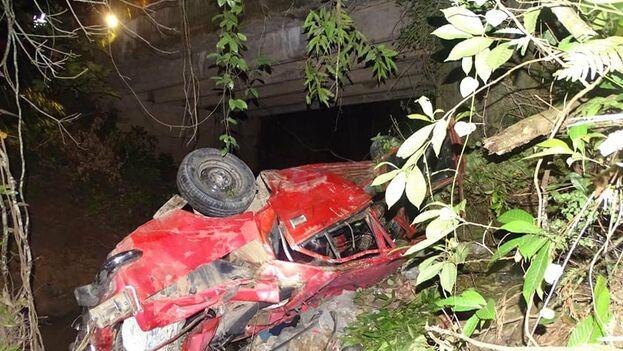 Mueren cinco personas en un accidente de tránsito en Pinar del Río