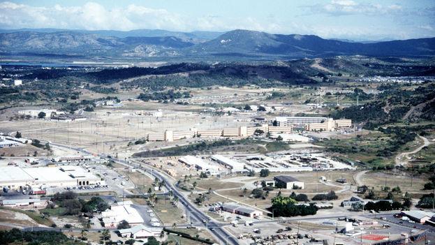Vista aérea de la Base Naval de Guantánamo. (Google)
