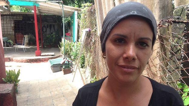 Yusleni Alonso, maestra de Alejandro Barrios. (14ymedio)