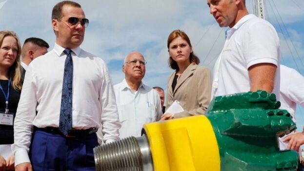 Se trata de un proyecto conjunto entre la empresa petrolera estatal rusa Zarubezhneft y la corporación Unión Cuba-Petróleo. (@CanalCaribecu)