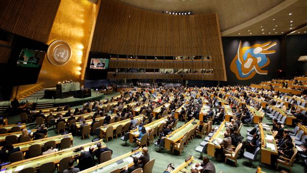 Por 189 votos a favor y ninguna abstención, los Estados miembros de Naciones Unidas respaldaron el texto cubano. (EFE)