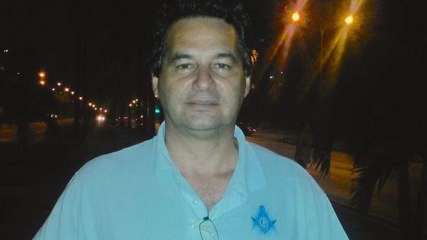 El escritor, bloguero y activista Ángel Santiesteban. (Lilianne Ruiz)