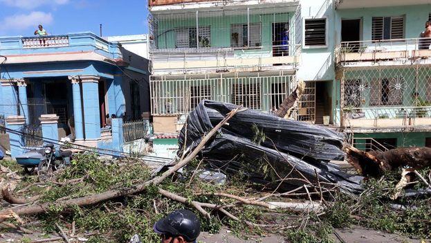 Tres muertos por un tornado en La Habana