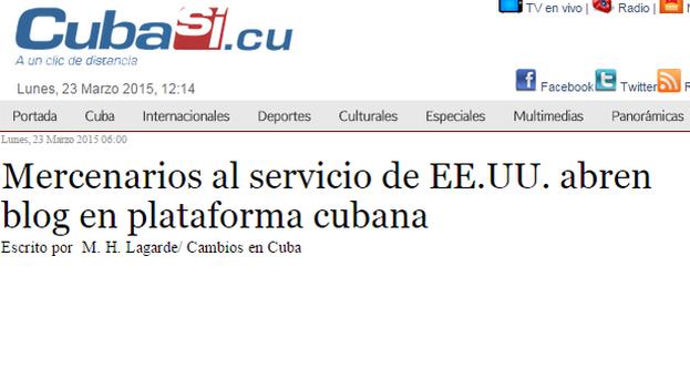 El artículo publicado en 'CubaSí'.
