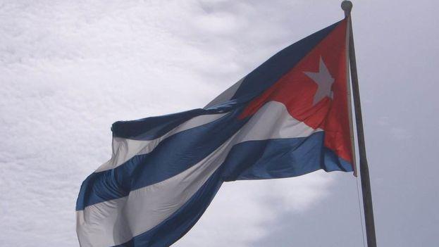 La bandera cubana sirve como símbolo de una sola nación. (14ymedio)
