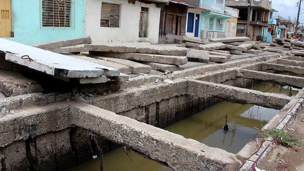 La calle Trocha en Santiago de Cuba. (14ymedio)