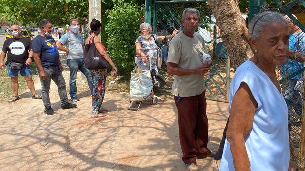 En la calle, los hay que caminan con guantes y otros que se besan al saludarse. (14ymedio)
