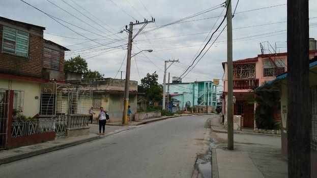Las calles de Holguín amanecieron en un denso silencio. (14ymedio)