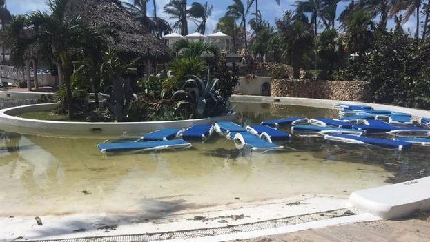 Algunos hoteles de la zona todavía están cerrados como el Paradisus Varadero, de la cadena Meliá, que sufrió severos daños. (Cortesía)