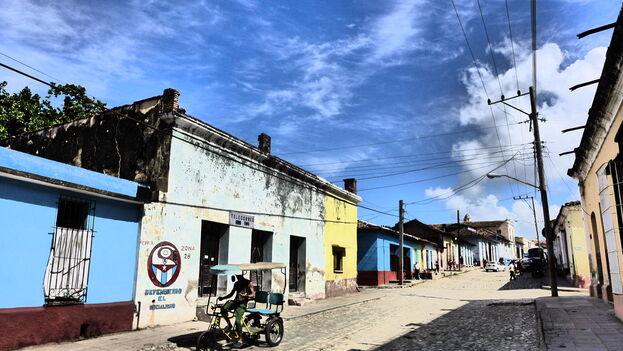 En la ciudad colonial de Trinidad la caída en el número de visitantes se vive de forma más dramática en los negocios locales. (M. Wong/Flickr)