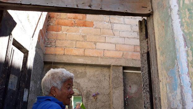 El cuarto de Emilia que perdió el techo. (14ymedio)
