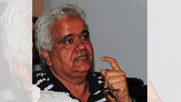 El dramaturgo, actor y crítico literario Amado del Pino. (Facebook)