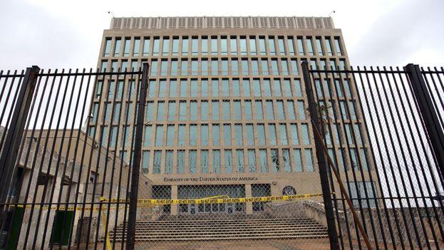 La embajada de EE UU en La Habana. (EFE)