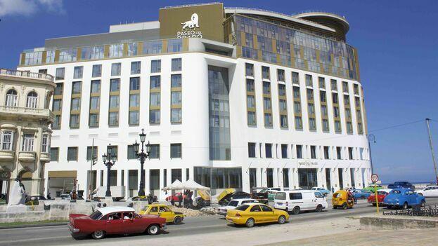 El nuevo establecimiento de la francesa Accor y el grupo estatal Gaviota es el tercero de los hoteles con categoría de cinco estrellas plus en esa zona de la capital. (14ymedio)