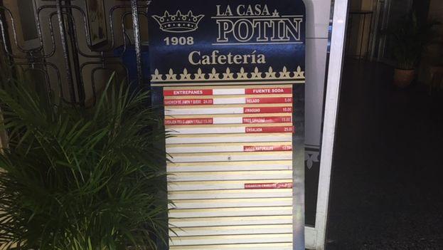 El céntrico establecimiento forma parte de las 189 cooperativas gastronómicas que han sido aprobadas en los últimos años en Cuba. (14ymedio)