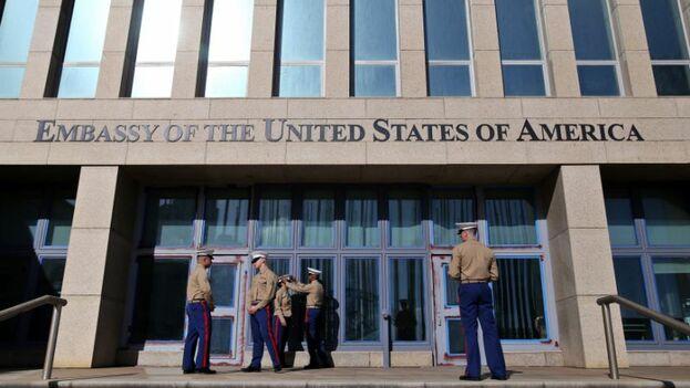 La misión estadounidense en La Habana funciona a nivel de encargado de negocios debido a que el Congreso aún no ha designado embajador. (EFE)