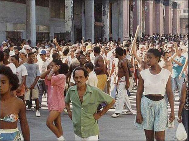 La zona ha cambiado bastante desde aquella explosión social que puso contra las cuerdas a Fidel Castro. (Karel Poort)