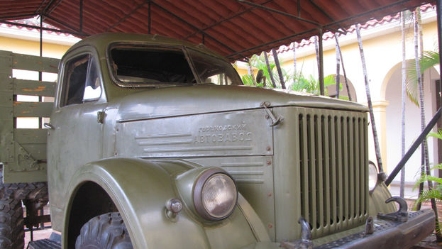 Un camión de fabricación soviética utilizado durante las luchas armadas en el Escambray. (Cortesía)