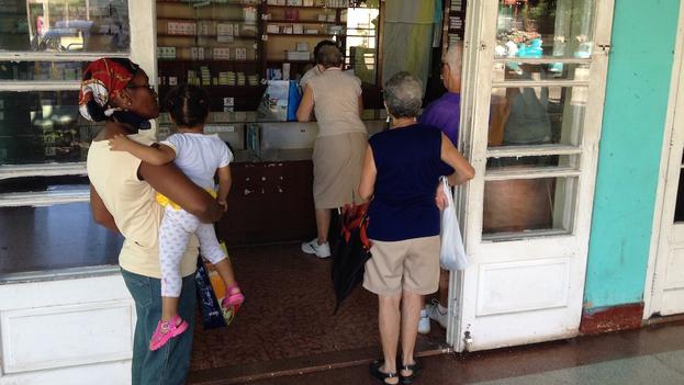 Una farmacia en La Habana. (14ymedio)