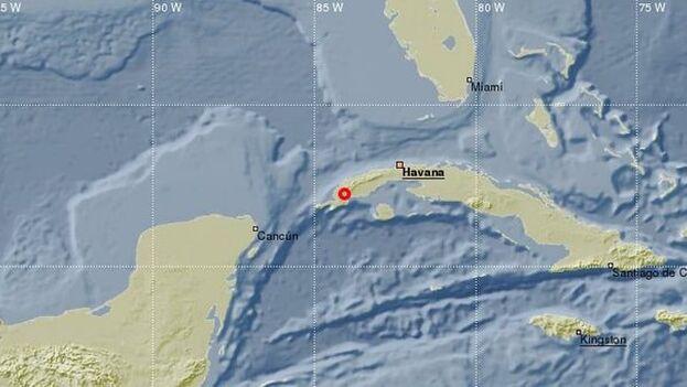 Son poco frecuentes los terremotos en esta zona de la Isla, más habituales en la parte oriental. (CENAIS)