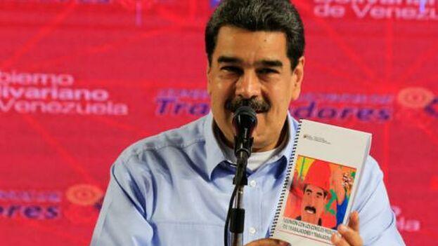 El gobernante de Venezuela, Nicolás Maduro. (EFE)