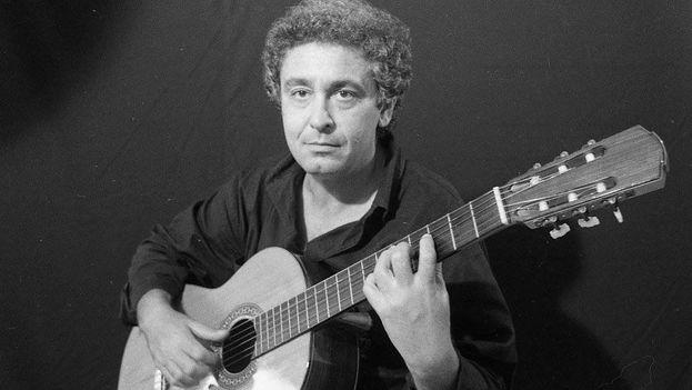 El guitarrista y compositor Sergio Vitier. (Iván Cañas)