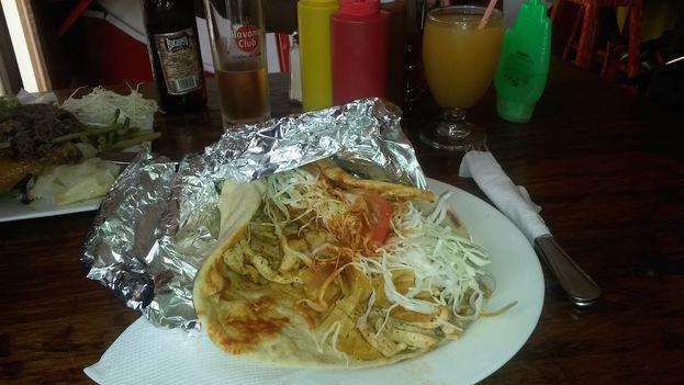 Un gyros kebab. (14ymedio)