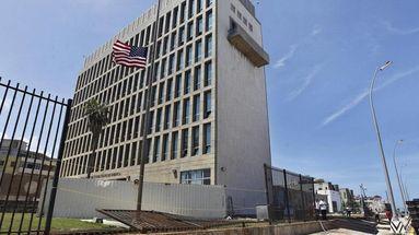 En la imagen, la Embajada de Estados Unidos en La Habana. (EFE)