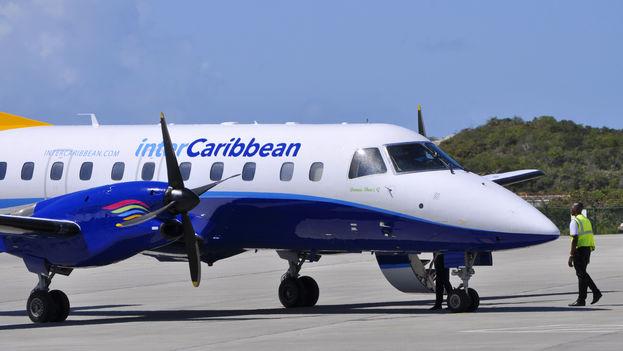 Un avión de interCaribbean Airways (Foto Club Coconut)
