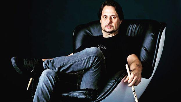 El músico estadounidense Dave Lombardo. (Twitter)